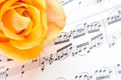 Strato musicale immagini stock