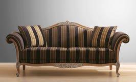 Strato o sofà dell'annata Immagini Stock Libere da Diritti