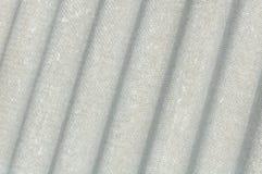 Strato ondulato del tetto del cemento amianto (Eternit) Fotografie Stock