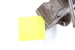 Strato per le note fotografia stock libera da diritti