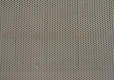 Strato perforato di metallo Fotografia Stock Libera da Diritti