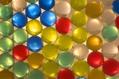 Strato retroilluminato delle perle dell'acqua Immagini Stock