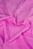 Strato rosa a forma di come cuore Fotografia Stock
