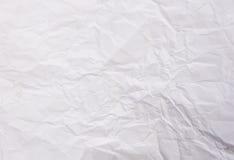 Strato sgualcito di Libro Bianco Fotografia Stock Libera da Diritti