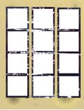strato stampato del contatto Fotografia Stock