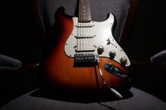 Stratocaster-Gitarre II Lizenzfreies Stockfoto