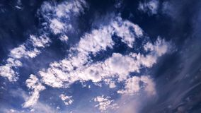 Stratocirrus Cloud Royalty Free Stock Images