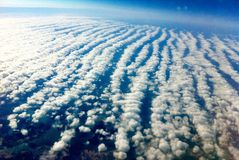 Stratocumulus Clouds Stock Photo