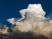 Stratocumulus clouds - stormy weather Stock Photography