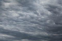 Stratocumulus Wolken Stockfotografie