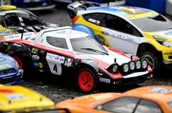 Stratos de Lancia de voiture de rassemblement de Rc Images libres de droits