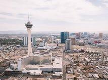 Stratosfärhotell i Las Vegas Fotografering för Bildbyråer