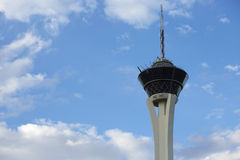 The Stratospere tower in the sky Stock Photos