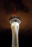 Stratosphere. Casino hotel with attraction at the top - Las Vegas, Unites States Royalty Free Stock Image