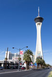 Stratosphere hotel and casino. Las Vegas Nevada Royalty Free Stock Photography