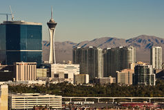 Stratosphere, Las Vegas. View of the Stratosphere and high rise condominiums, Las Vegas, Nevada Stock Photos
