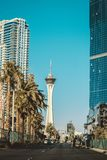 Stratosphere. Las Vegas trip Royalty Free Stock Photo