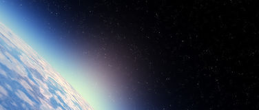 Stratosphere sky Stock Photo