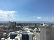 Stratosphere. The view from the highest building in Las Vegas Royalty Free Stock Image
