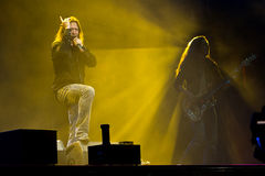 Stratovarius. On Masters of Rock 2012 Stock Images