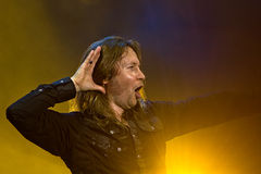 Stratovarius. On Masters of Rock 2012 Royalty Free Stock Photos