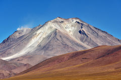 Stratovolcano in the Andes Royalty Free Stock Image