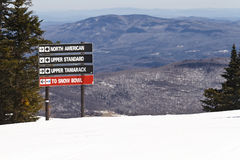 Stratton Mountain Stockfoto