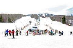 Stratton Ski Village Foto de Stock