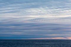 Stratus chmury obrazy stock