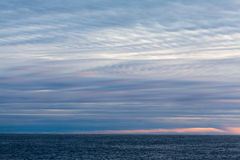 Stratus clouds Stock Images