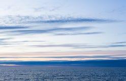 Stratus wolken Royalty-vrije Stock Afbeeldingen