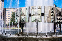 Strausberger Platz Royalty Free Stock Images