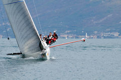 Stravaganza que ganha o Trofeo Gorla 2012 Fotografia de Stock Royalty Free