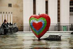 stravinsky的喷泉 图库摄影
