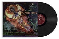 Stravinsky το πουλί πυρκαγιάς στοκ εικόνες