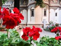 Stravropoleos church and monastery arhitecture Stock Photography
