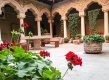 Stravropoleos church and monastery arhitecture Royalty Free Stock Photo