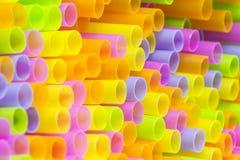 Straw Abstract Background colorido Fotos de Stock