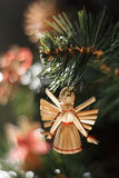 Straw Angel Arkivbilder