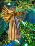 Straw Angel Foto de Stock