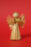 Straw angel background Stock Images