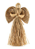 Straw angel decoration Stock Photography