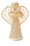Straw angel Stock Images