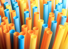 Straw background. Royalty Free Stock Photo