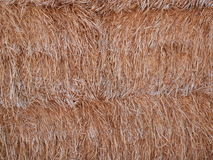 Straw background. Stack of hey or withered straw texture full frame background image Stock Photography