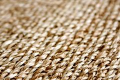 Straw background texture. A horizontal picture Stock Photography