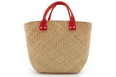Straw bag Royalty Free Stock Image