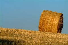 Straw bale Royalty Free Stock Image