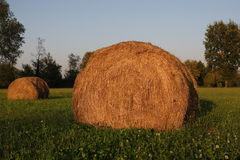 Straw bale 2 Stock Photography