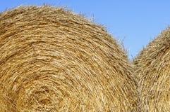 Straw bale Stock Photo
